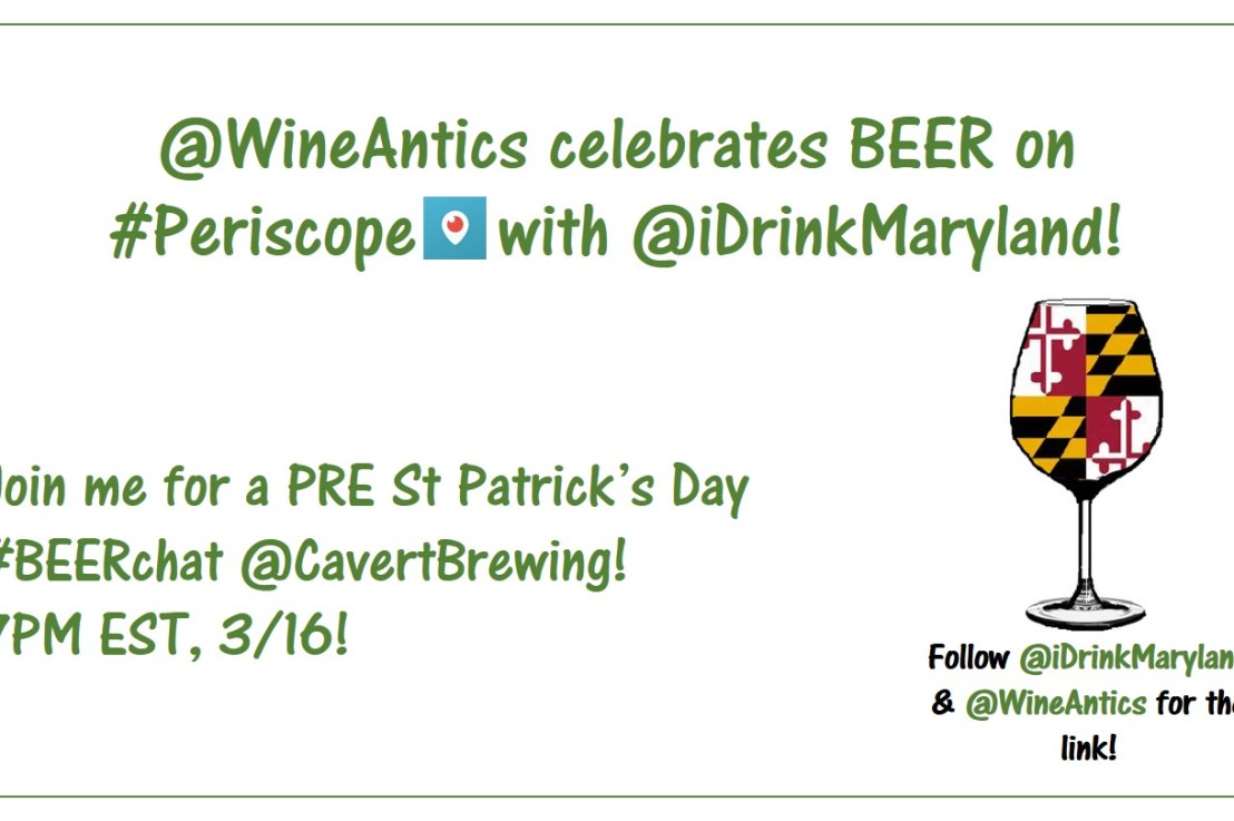 PRE St. Patrick's Day Periscope Event