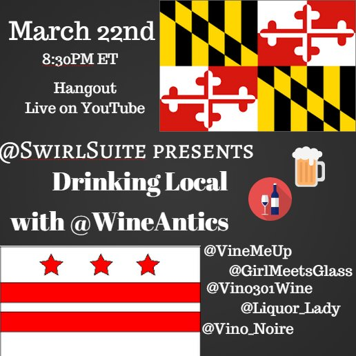 Come Hangout & Chat About Drinking Local!TONIGHT!!