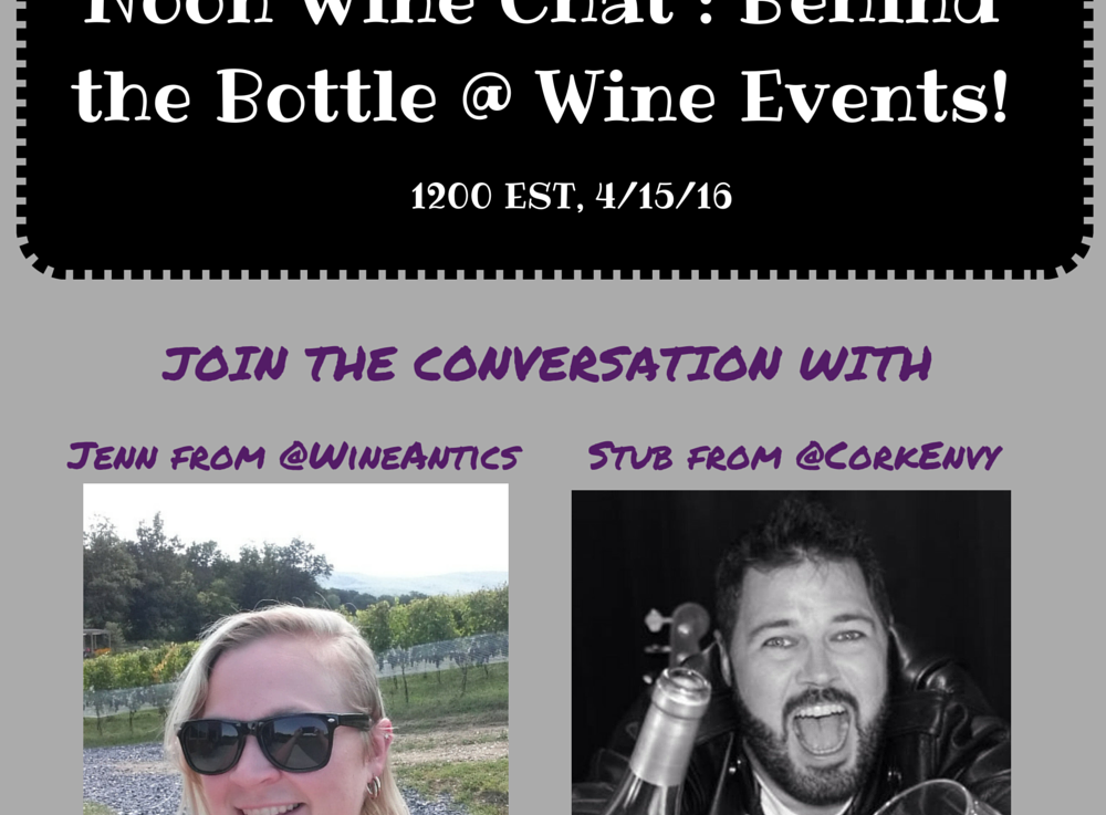 LIVE NOW on Blab: Friday Noon WineChat
