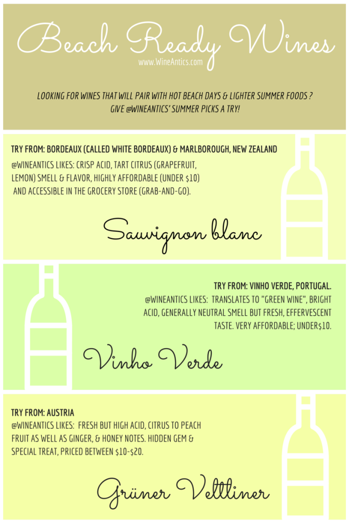 Wine Antics Summer Wine Picks!